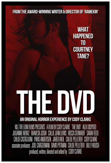 The DVD: An Interactive Horror Experience by Cody Clarke